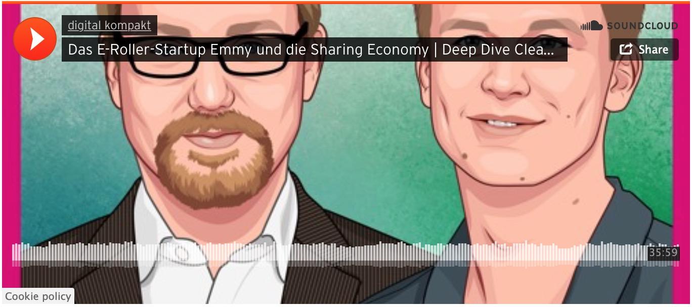 Podcast mit dem Gründer von Emmy