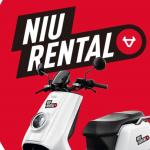 Niu bietet Leihservice für Elektroroller